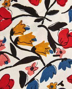 The Shiny Squirrel Textile Patterns, Textile Prints, Print Patterns, Floral Prints, Surface Pattern Design, Pattern Art, Pattern Fabric, Pattern Illustration, Botanical Illustration