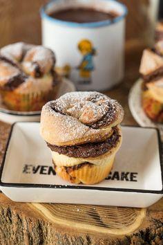 Cheesecake Pops, Breakfast Recipes, Dessert Recipes, Yummy Mummy, Winter Food, Cake Cookies, Muffin, Love Food, Nutella