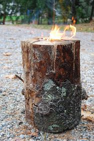 Fire Log! I've been looking for the instructions on how to do these!