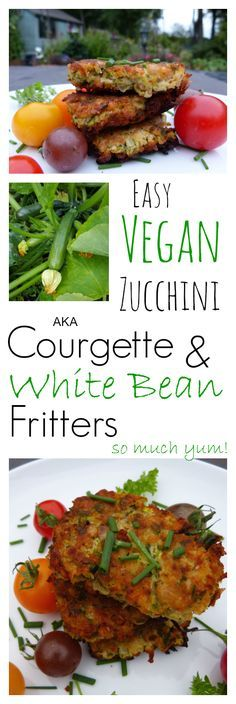 Courgette? Zucchini? Whatever you call them, there will be a time when you have too many. And these amazing little fritters will come to your rescue. Vegan, easy and very nutritious. It's almost a shame they are SO DARN TASTY!