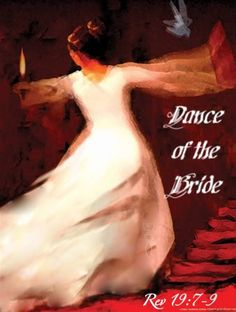 We are the bride of Christ once we ask Jesus into our hearts & serve/live for Him...there is no other place I want to be than with Jesus...