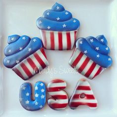 Mandys Sweets - ❤️4th of July Cookies ❤️