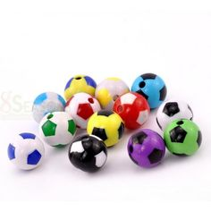 Wholesale Acrylic Bubblegum Beads Football Sports At Random About Dia, Hole: Approx 20 PCs from China Supplier Cheap Beads, Soccer Ball, Soccer Party, Acrylic Beads, Bubble Gum, True Colors, Jewelry Findings, Charmed, Free Shipping