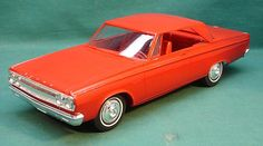 1965 Dodge Coronet 500 2 Door Ht promo model