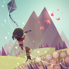 Mountain Kiting -- by Joey Chou