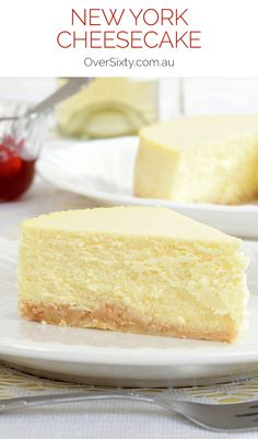 ... with this smooth and creamy authentic New York cheesecake recipe