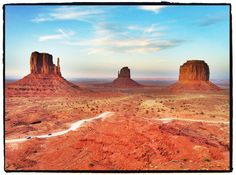 Monument Valley...Visited and it looks like this..and you feel so small!