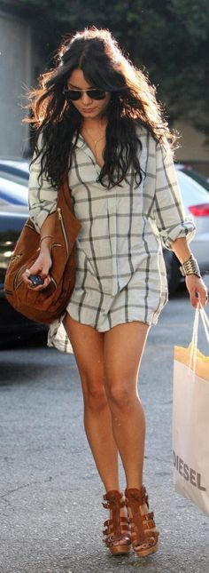 Zac Efrom Old Shirt Dress