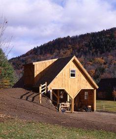 The 1828 Bank Barn Barn Plans Thenorthamericanbarn Com