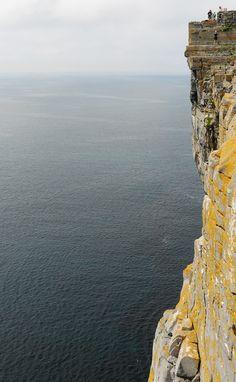 The rock cliffs, Inishmore, Ireland