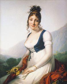 The Athenaeum - Portrait of the Comtesse de Bonneval (Anne-Louis Girodet de Roussy-Trioson - )