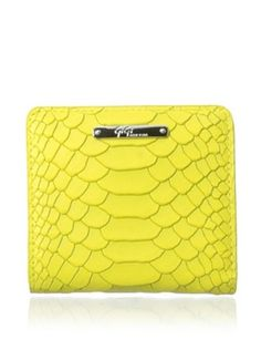 43% OFF GiGi New York Women's Small Wallet, Yellow