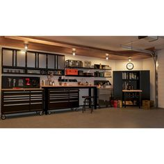 Husky 52 in. Pegboard Back Wall for Tool Cabinet, - The Home Depot : Husky 52 in. Pegboard Back Wall for Tool Cabinet, - The Home Depot Garage Renovation, Garage Remodel, Garage Makeover, Garage House, Garage Shop, Dream Garage, Man Cave Garage, Garage Office, Bus House
