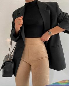 Fashion Inspiration And Casual Outfit Ideas For Women - Fashion Inspiration And Casual Outfit Ideas For Women Casual Outfits, Street Style Clothes, Outfi - Winter Fashion Outfits, Mode Outfits, Cute Casual Outfits, Look Fashion, Stylish Outfits, Fall Outfits, Womens Fashion, 70s Fashion, Korean Fashion