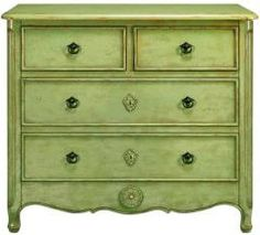 Home Decorators' Keys Chest in Antique Green @Lorraine Collins