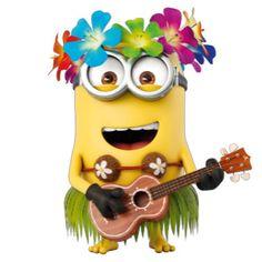 The Minions - Aloha Minion 2, Minions Love, Minion Rush, Minion Photos, Minions Images, Minions Quotes, Karaoke, Minions Animation, Minion Humor