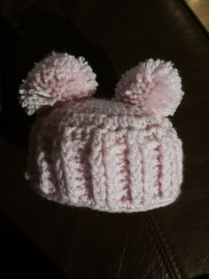 Adapted baby hat - main pattern from Pinterest. Pinned on crochet board