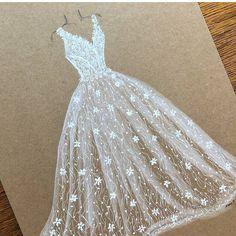 Dress Design Sketches, Fashion Design Sketchbook, Fashion Design Drawings, Fashion Sketches, Fashion Illustration Template, Fashion Illustration Dresses, Fancy Wedding Dresses, Designer Wedding Dresses, Bride Dress Simple