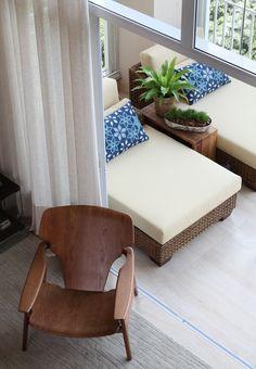 Decoração de: Detalhes - chaise; Casa de Valentina