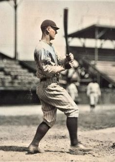 Colorized Painting - 1924 Lou Gehrig Rookie Original News Photograph colorized by Ahmet Asar by Ahmet Asar My Yankees, New York Yankees Baseball, Softball Pitching Machine, Baseball Pitching, Hockey, Mlb, Famous Baseball Players, Sports Photos, Baseball Photos