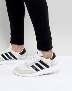 bd141874b95c98 adidas I-5923 Runner Boost Sneakers In White CQ2489 Trampki Adidas, Adidas  Dla Kobiet