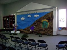 """VBS """"The Mighty God Room Decorations"""