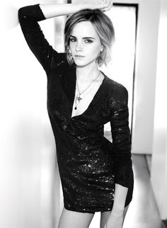 Emma Watson... This is super cute.