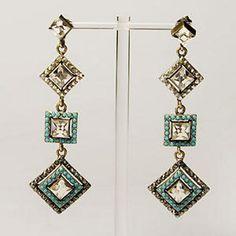 Jeweled Drop Earrings Wholesale Jewelry, Pendants, Lights, Drop Earrings, Jewels, Bijoux, Pendant, Gemstones, Jewlery