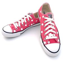 09c0f43d83ba16 Converse Women 7 Men 5 RASPBERRY Polka Dot Chuck Taylor All-Star Shoes  132298F  fashion  clothing  shoes  accessories  womensshoes  athleticshoes   ad (ebay ...