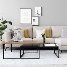 Canada's Best Furniture & Home Decor Store Living Room Modern, Home Living Room, Apartment Living, Living Room Designs, Living Room Furniture, Home Furniture, Living Room Decor, Living Room Yellow, Furniture Ideas
