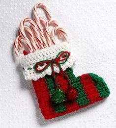 Crocheted Mini Stocking
