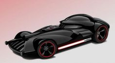 Star Wars Hot Wheels. This one is, of course, Darth Vader.