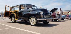 Morris Minor Traveller 1000 hearse at BMC Leyland show Gaydon July 18 Morris Traveller, Morris Minor, Vans Style, Camper Van, Funeral, Sd, Volkswagen, Antique Cars, British