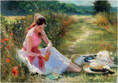 """Rest in Her Way"" by Vladimir Volegov"