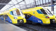 Op internet zijn beelden uitgelekt van wat de nieuwe razendsnelle intercitytrein van de NS moet gaan worden. Een woordvoerder van de NS ontkent echter dat de nieuwe treinen er daadwerkelijk zo uit gaan zien.