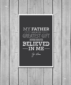 Jimmy Valvano Father Quote Digital Poster by CatalyzeCreative, $6.00 #ncstate #dad #raleigh #inspiration