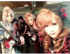 Teru, Kamijo & Hizaki