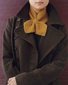Martha Stewart Knitted Neck Scarf