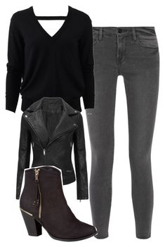 """Katherine Pierce Inspired Outfit"" by mytvdstyle ❤ liked on Polyvore featuring Frame Denim, Michael Kors, women's clothing, women's fashion, women, female, woman, misses, juniors and Inspired"