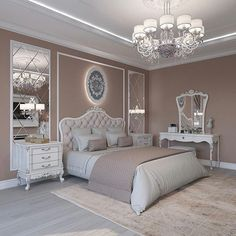 Breathtaking 84 Cozy And Easy Classic Bedroom Decor Ideas That You Can Try ASAP classic home decor Modern Bedroom, Bedroom Interior, Classic Bedroom Decor, Minimalist Bedroom, Luxurious Bedrooms, Classic Home Decor, Master Bedrooms Decor, Classic Bedroom, Bedroom Decor