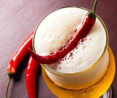 Add a little heat to you beers by brewing with chili peppers. Adding peppers to a beer is an interesting way to add another layer of flavor to your brews. Brewing Recipes, Homebrew Recipes, Beer Recipes, Recipies, Steeped Coffee, Food Plating Techniques, Beer Ingredients, Home Brewing Equipment, Beer Pairing