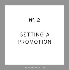 Tips on how to get the promotion you've been wanting // career tips