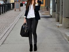 Sexy and classy every day outfit.