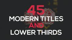 45 Modern Animations #Clean, #Corporate, #Intro, #IOneeStudio, #Logo, #LowerThirds, #Minimal, #Presentation, #Promo, #Smooth, #Text, #Title, #Typo, #Typography, #UniversalMinimalist https://goo.gl/0Gy3ij
