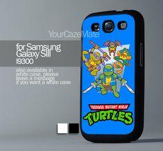 Cute Teenage Mutant Ninja Turtles , For Samsung s3 Hard Plastic Black | YourCazeMate - Accessories on ArtFire
