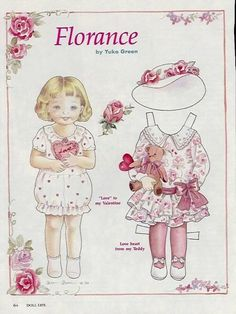 FLORANCE by Yuko Green in February 1994  Doll Life Magazine 1 of 2
