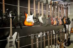 E-Gitarren von Ibanez, LTD, Jackson, Schecter