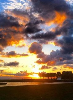 Sunsets just don't get any more beautiful than in West End! Grand Bahama Island, The Bahamas