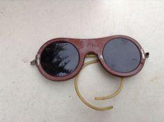 vintage american optical bakelite sun glasses