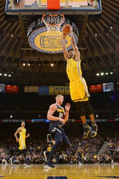 Andre Iguodala of the Golden State Warriors dunks the ball against the Denver Nuggets on March 8 2019 at ORACLE Arena in Oakland California NOTE TO. Oracle Arena, Andre Iguodala, Oakland California, Denver Nuggets, Nba Champions, Golden State Warriors, Sports Teams, March, Note
